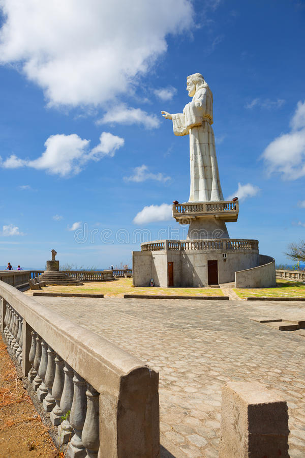 Free Nicaragua. San Juan Del Sur. A Large Statue Of Christ. Royalty Free Stock Photography - 69903067