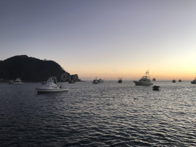 Nicaraguahafen lizenzfreies stockbild