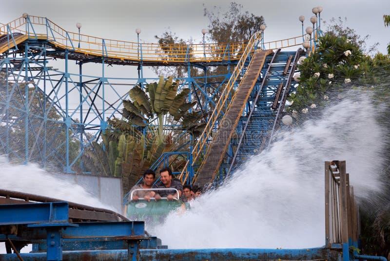 Nicco Park in Kolkata-Indien lizenzfreies stockfoto