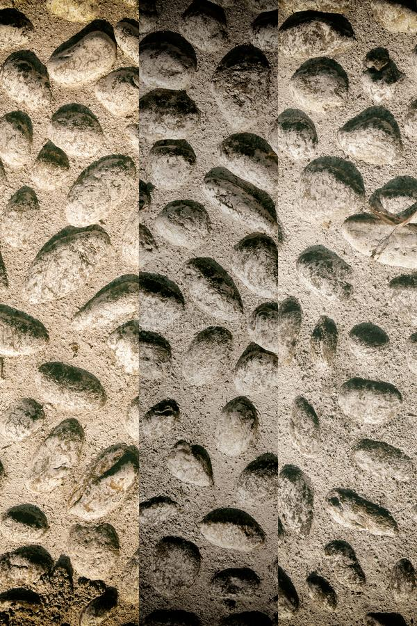 Nice background image of pebbles, round rocks texture stock photos