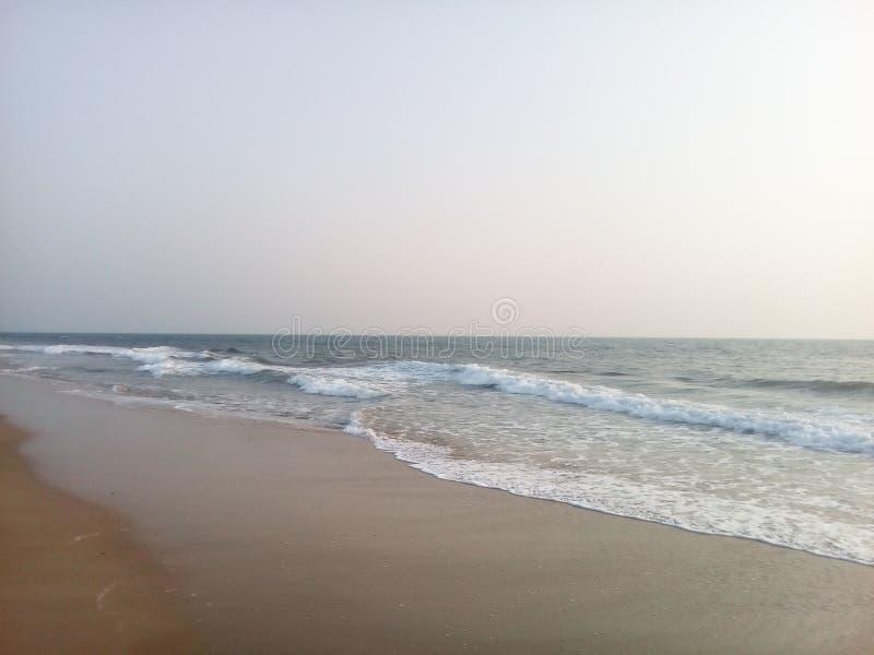 Nice beach. royalty free stock photo