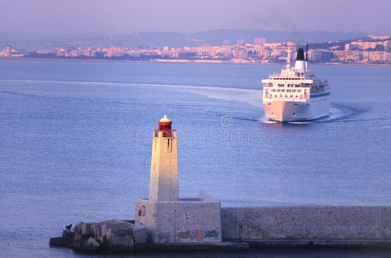 Download Nice boat stock photo. Image of ferry, gateway, colors - 1333920