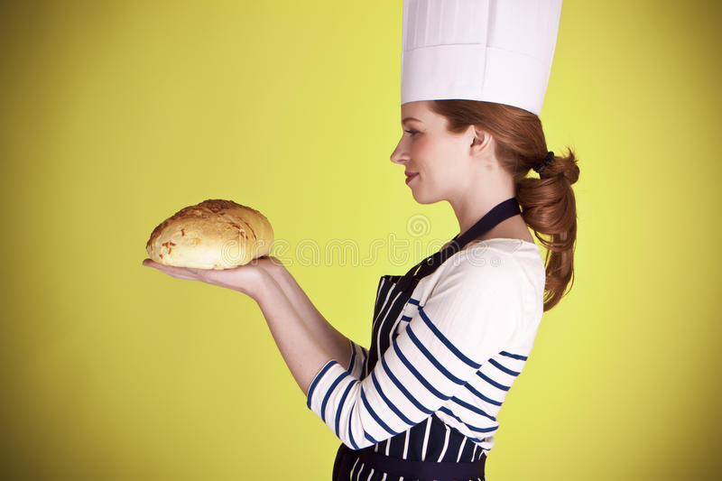 Download Nice bread. stock image. Image of domestic, bakery, happy - 27251217
