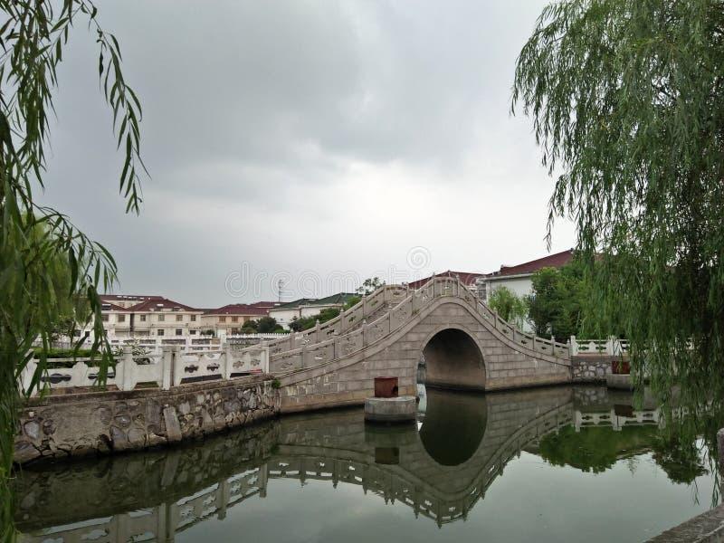 Nice bridge from china stock image