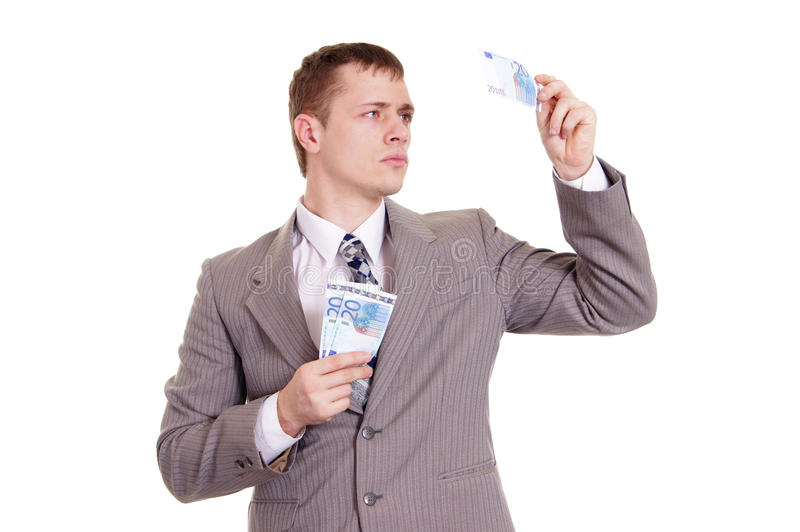 Download Nice Business Man In A Gray Suit Stock Photo - Image: 23311342