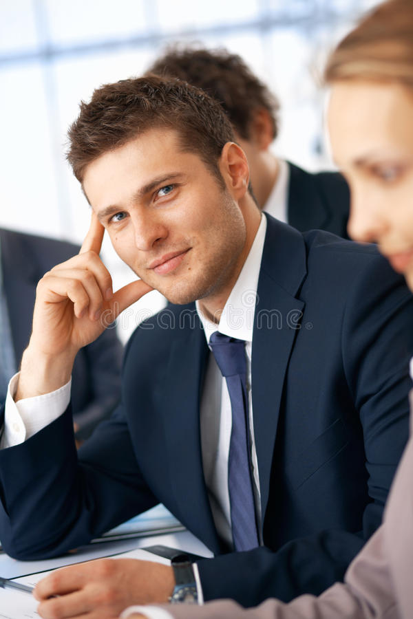 Nice Businessman. Stock Images