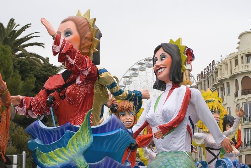 Nice Carnaval stock foto