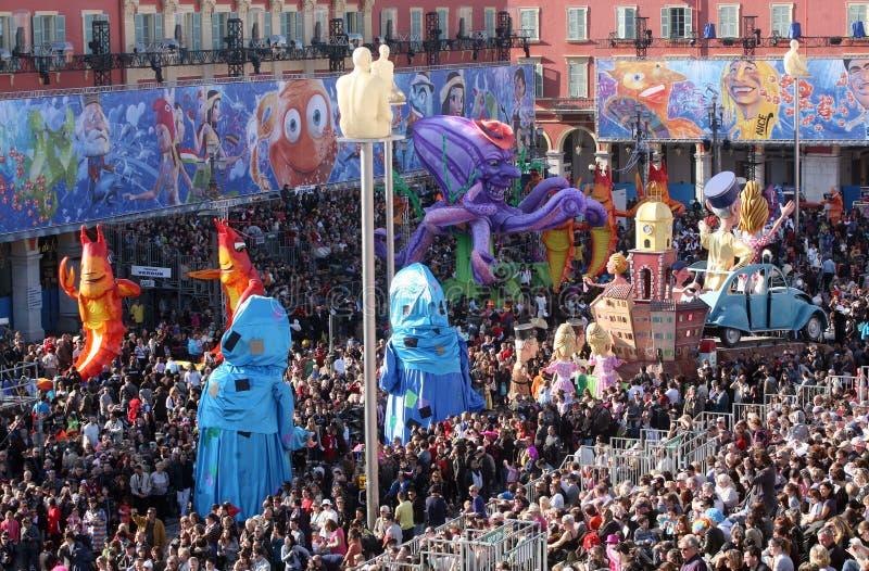 Nice Carnaval 2011 stock foto's