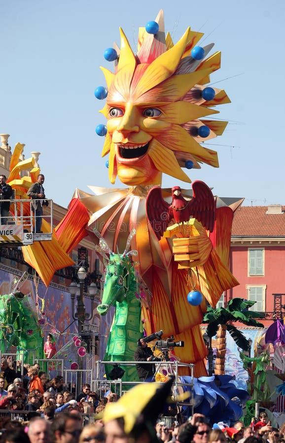 Nice Carnaval 2011 royalty-vrije stock foto's