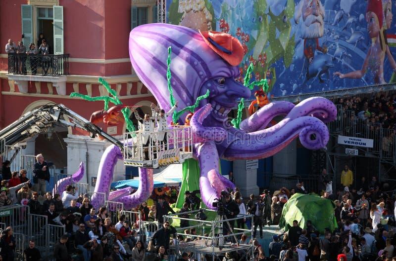 Nice Carnaval 2011 royalty-vrije stock foto