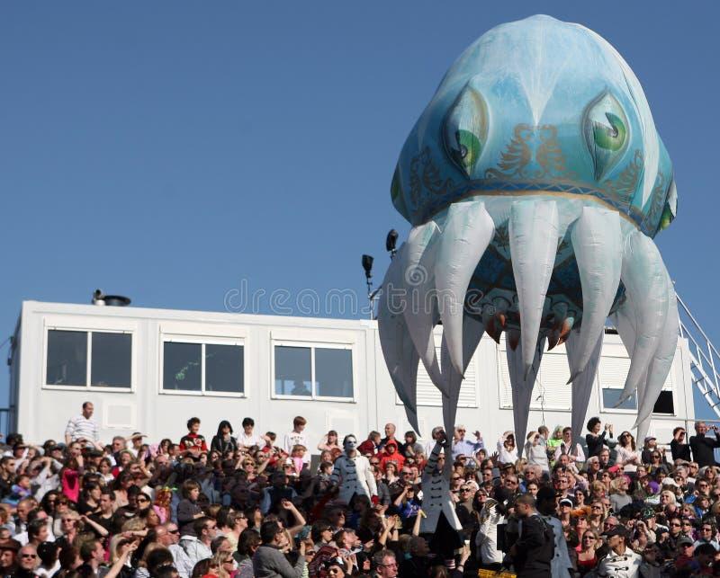 Nice Carnaval 2011 stock afbeelding