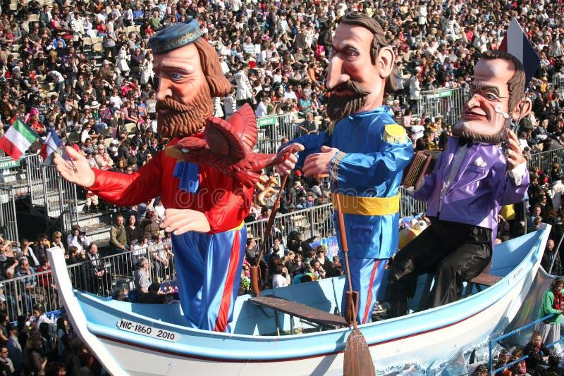 Nice Carnaval 2011 stock fotografie
