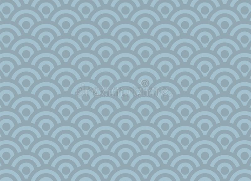 Nice circles composition background royalty free illustration