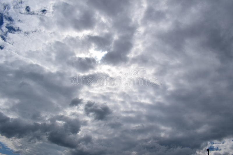 Nice clouds on the air royalty free stock images