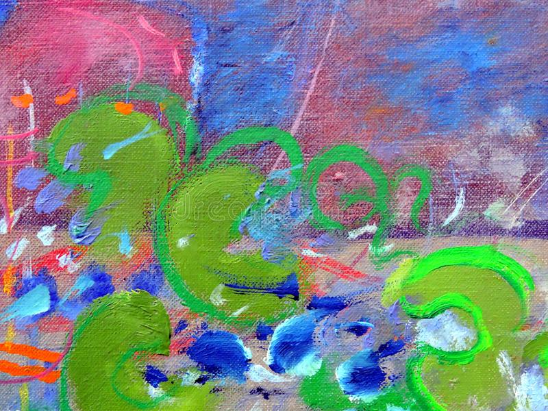 Nice colorful abstract surface - background royalty free stock photography