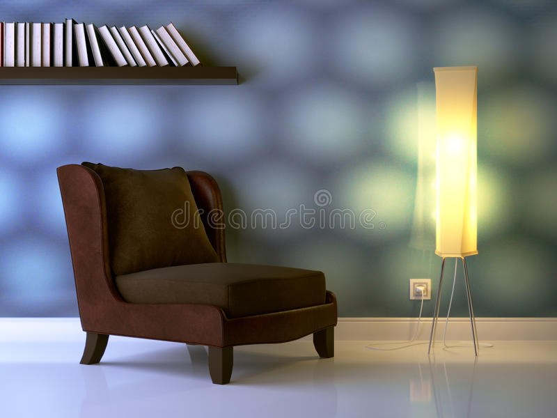Nice composition stock illustration
