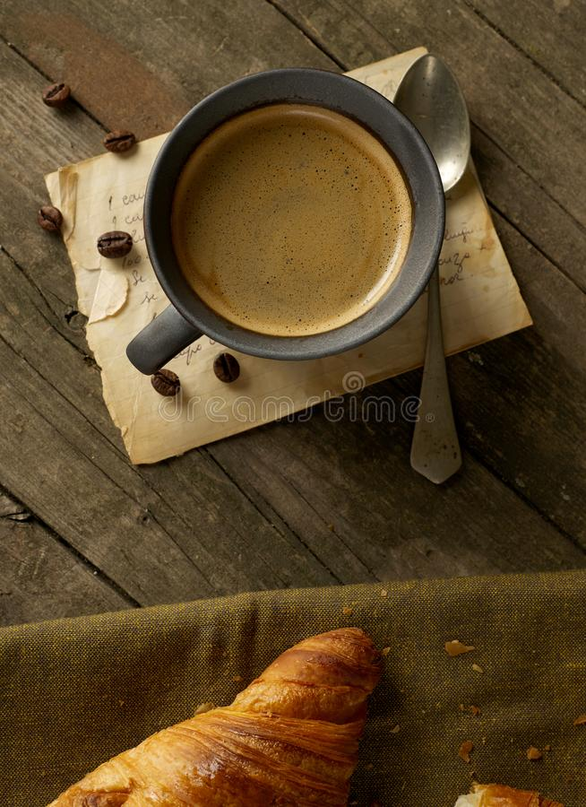 A nice cup of coffee royalty free stock photos