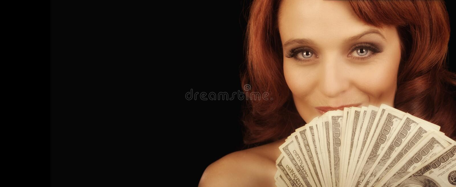 Show me The money royalty free stock image