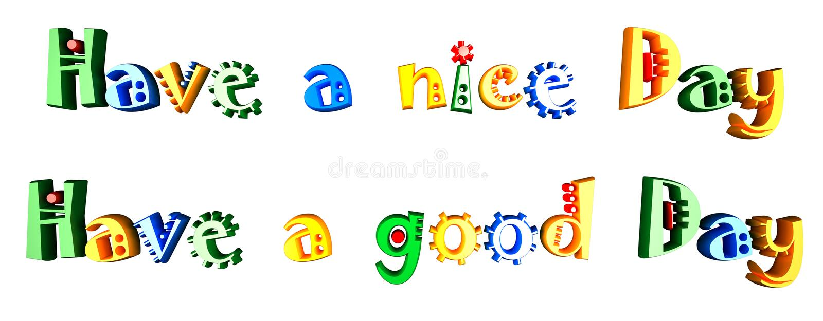 nice day vector illustration