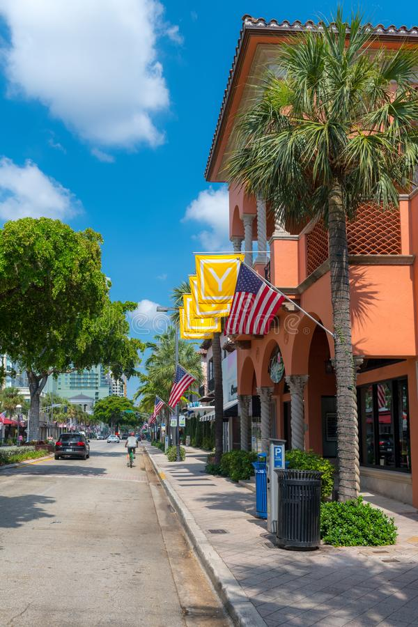 Nice Day Fort Lauderdale royalty free stock photos
