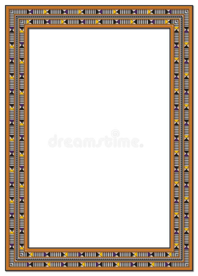 Nice Decorated Frame For Any Purpose Stock Illustration ...