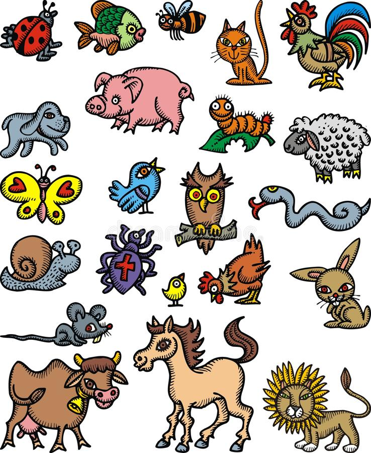 Nice Domestic Animals Royalty Free Stock Images