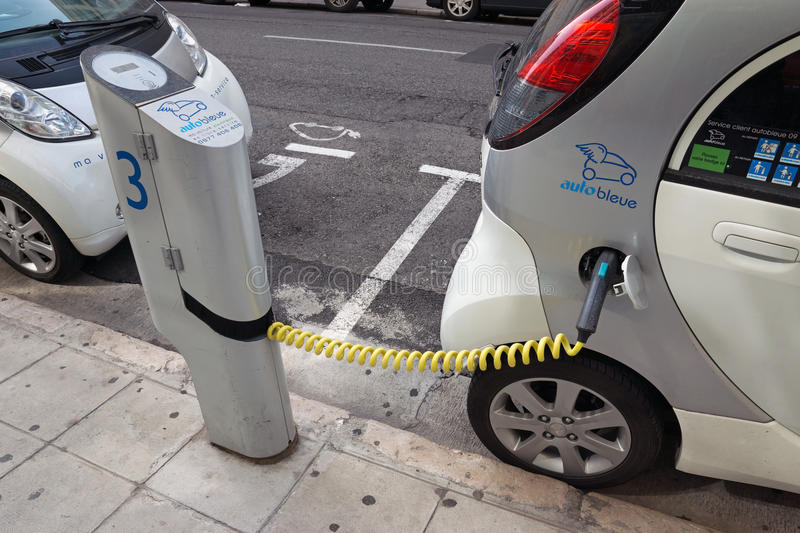 Nice Electric Cars Editorial Photo Image