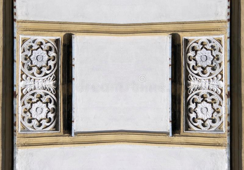 Beautiful frame with ornaments, Lithuania royalty free stock image