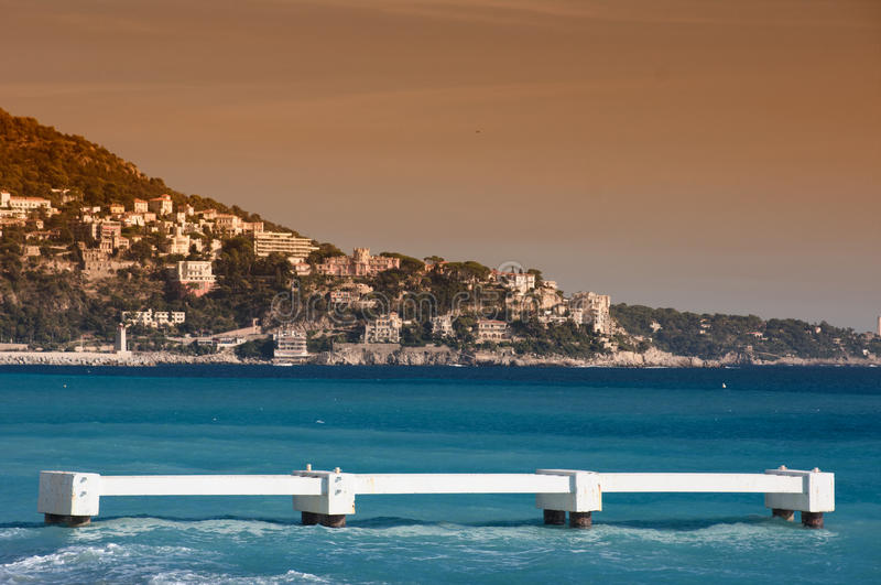 Download Nice, France stock photo. Image of touristic, boat, cote - 16830092