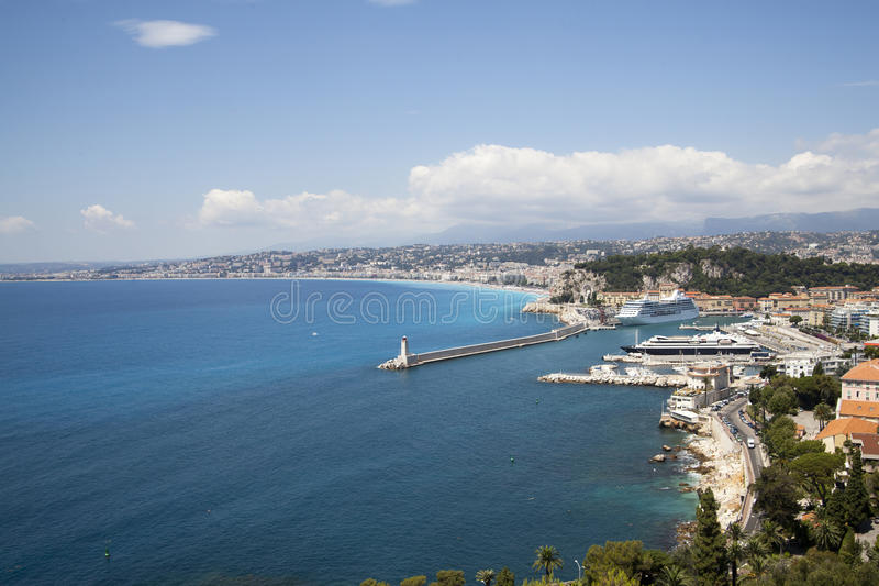 Download Nice in France stock image. Image of tourism, blue, city - 20608493