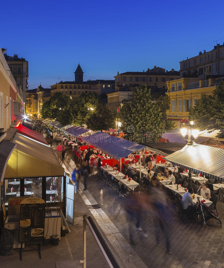 Nice, Frankrijk stock afbeeldingen