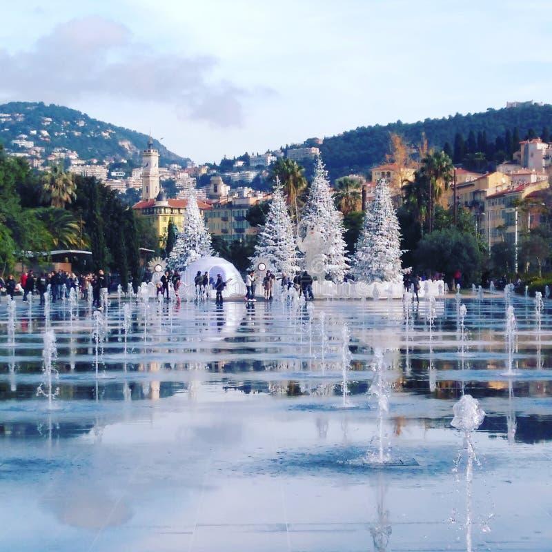 Nice, Franse Riviera stock afbeeldingen