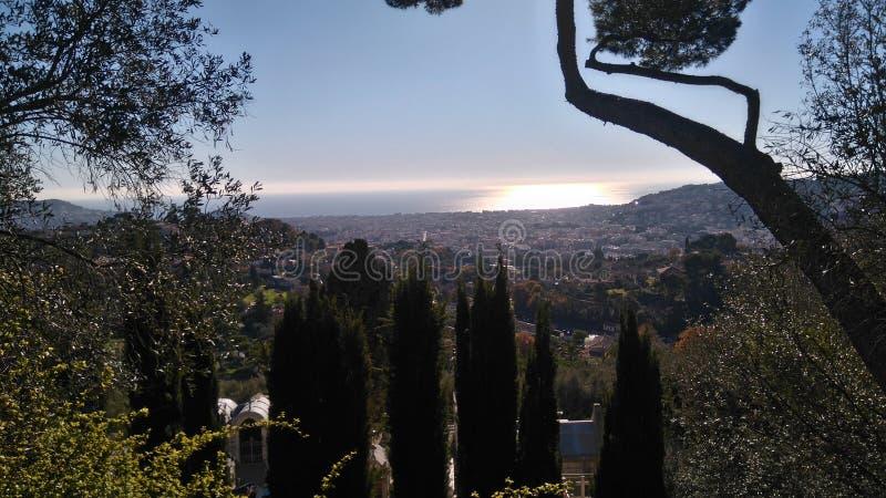 Nice, Franse Riviera royalty-vrije stock foto