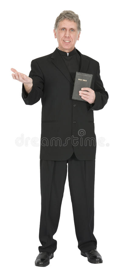 Download Nice Preacher, Minister, Pastor, Priest Sermon Iso Stock Image - Image: 29860279