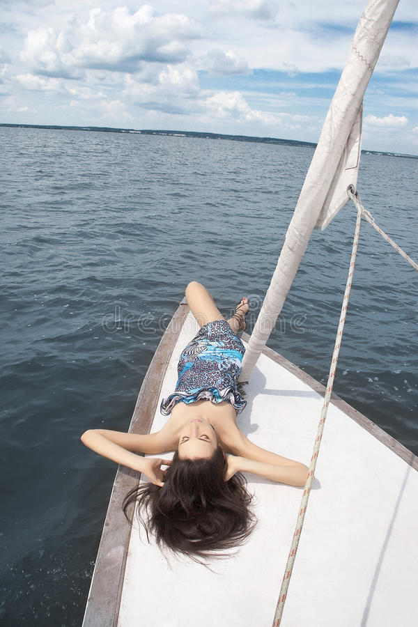 Download Nice Girl With Closed Eyes And Amazing Body Stock Photo - Image: 20722684