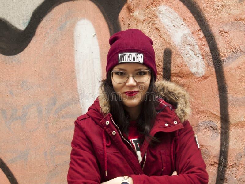Nice girl posing stock image
