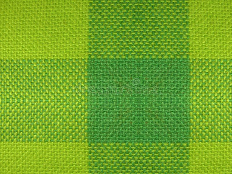 Beautiful green fabric surface texture royalty free stock images