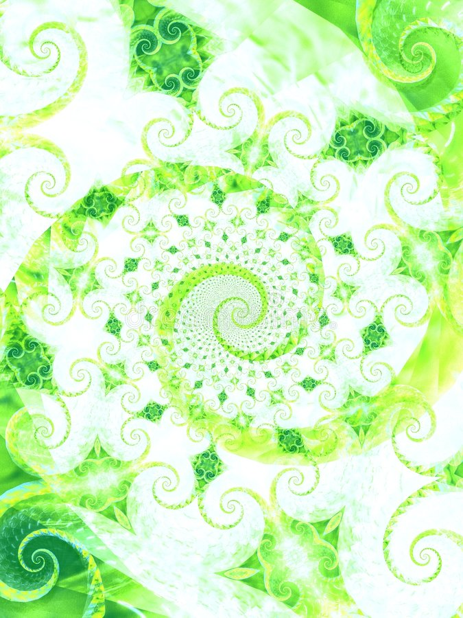 Free Nice Green Leaves Vines Spiral Royalty Free Stock Photo - 2009345