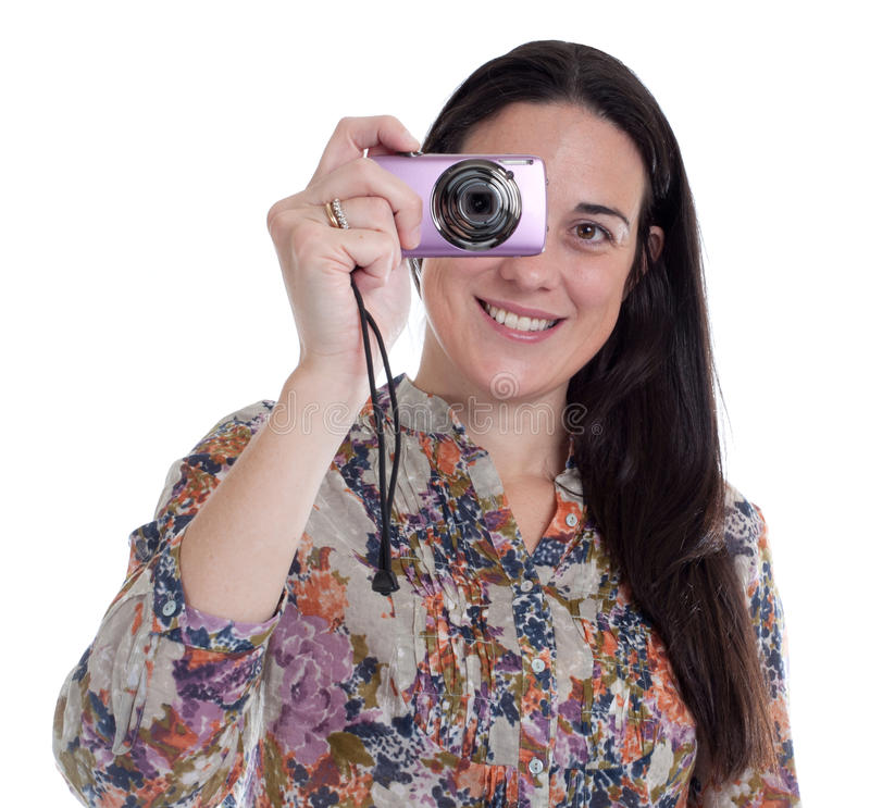Download Nice Happy Young Women Is Taking Pictures Stock Images - Image: 18707944