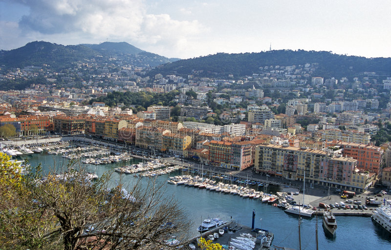 Download Nice Harbour stock photo. Image of holiday, cityscape - 1121020