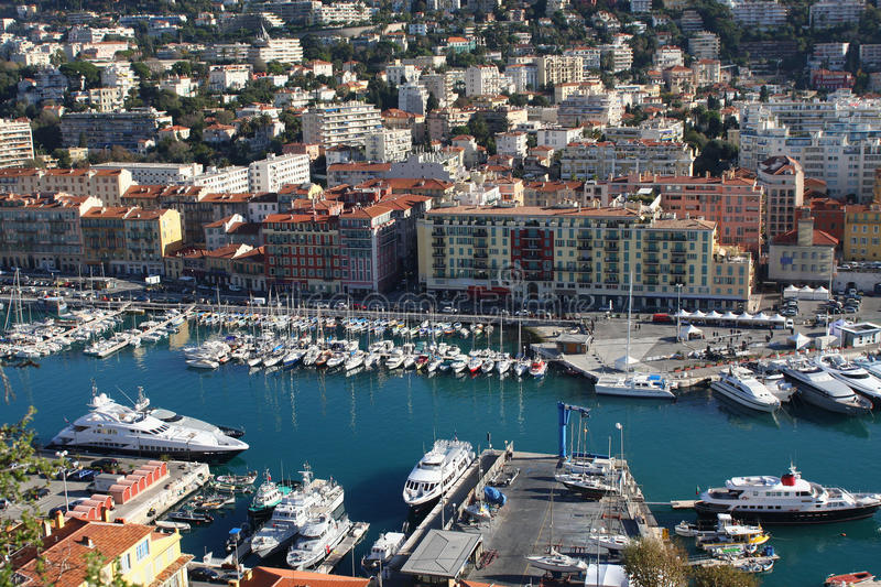 Download Nice harbour, France stock image. Image of cote, nautical - 12461441