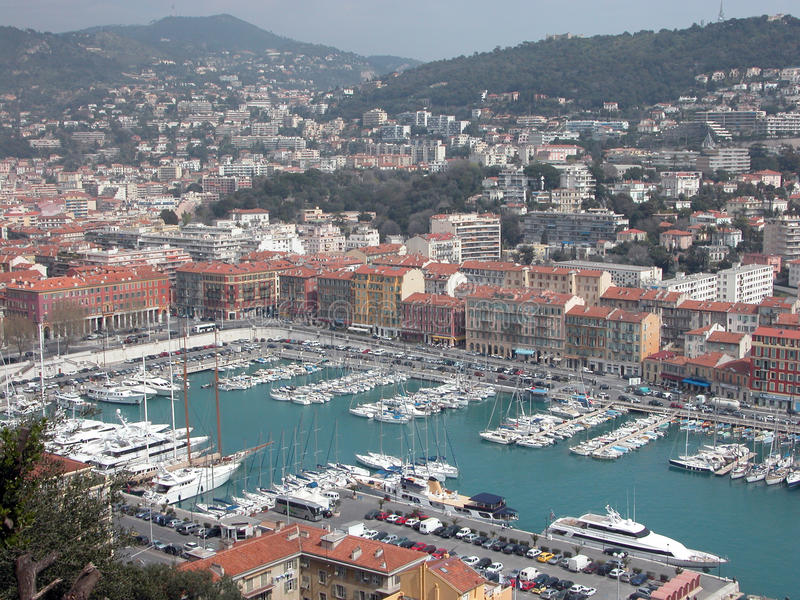 Nice Harbour, France Royalty Free Stock Photos