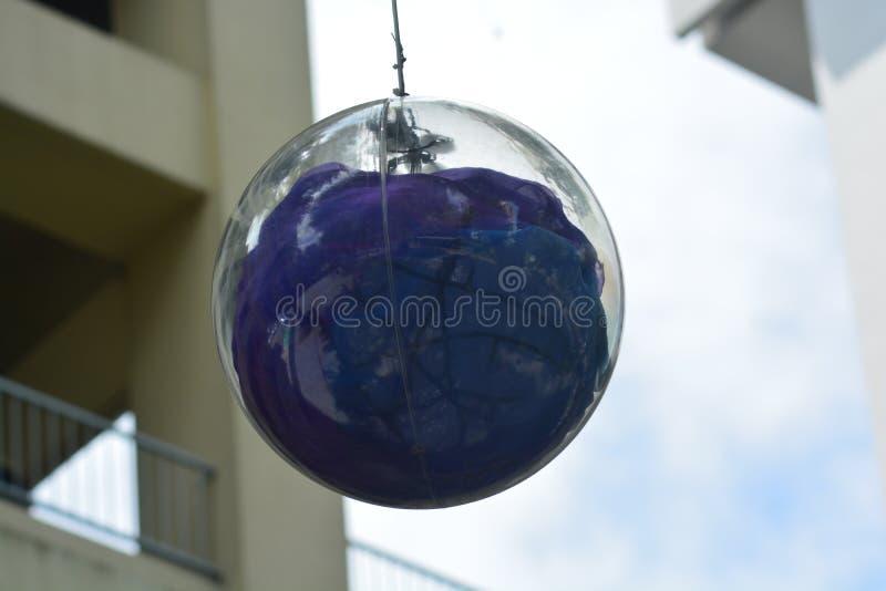 Nice het beeld van een groene bal voor decoratie royalty-vrije stock foto