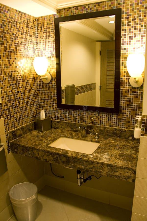Nice hotel bathroom stock photography