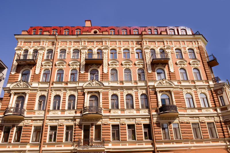 Download Nice house facade stock photo. Image of ornamented, aged - 20715102