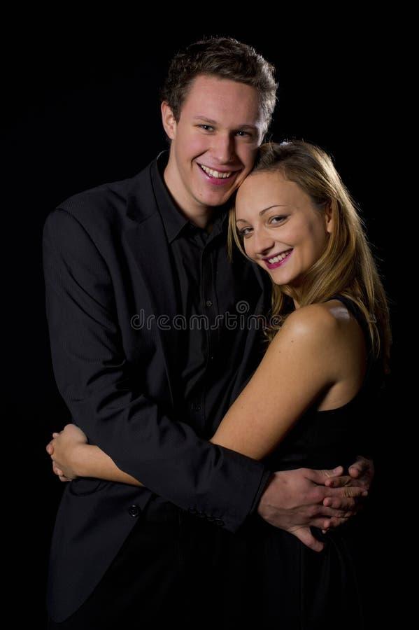 Nice Hugging Couple Royalty Free Stock Photos