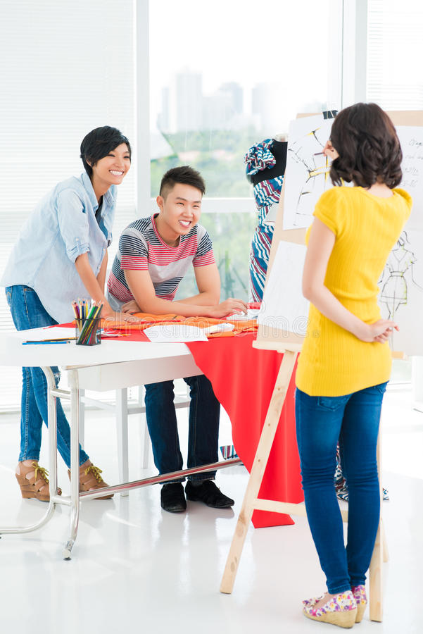 Download Nice idea! stock image. Image of interaction, excited - 32194181