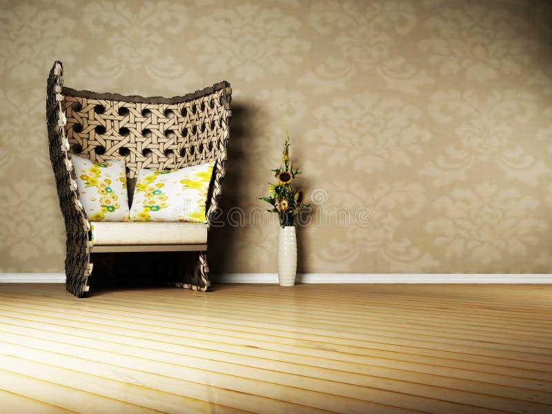 Download Nice Interior Design Of Living Room Stock Illustration - Image: 19072842