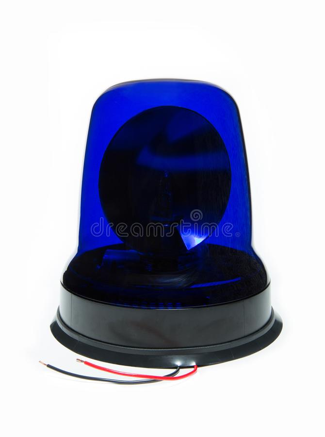 Isolated car beacon. Nice isolated car beacon for special transport stock photos