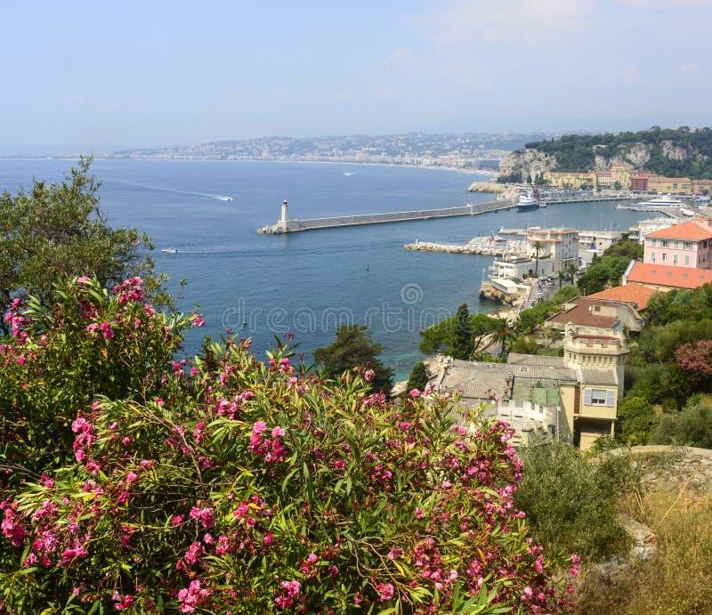 Nice (Kooi d'Azur) stock fotografie